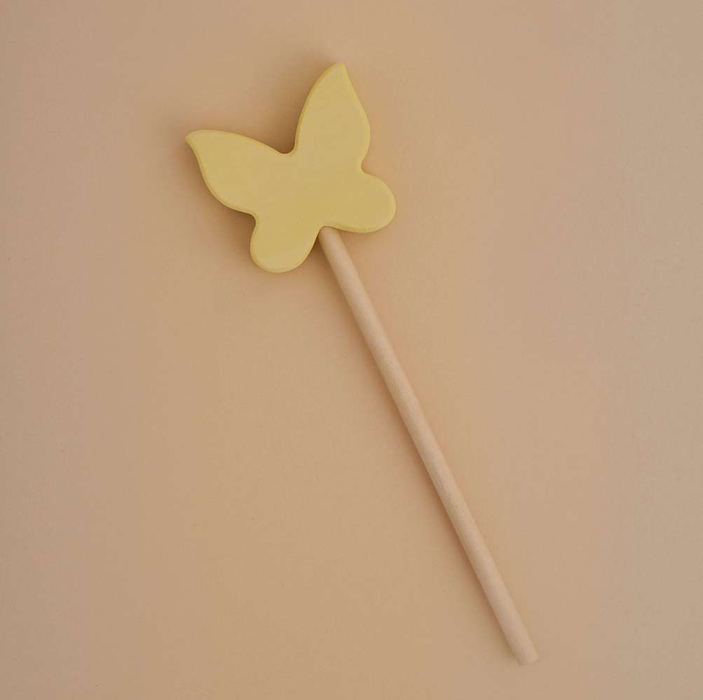 Magic Wand Butterfly VanillaYellow